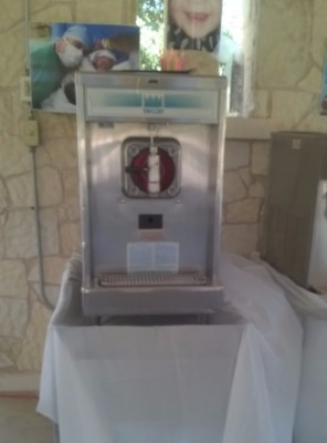 Our Taylor-Frozen drink machine