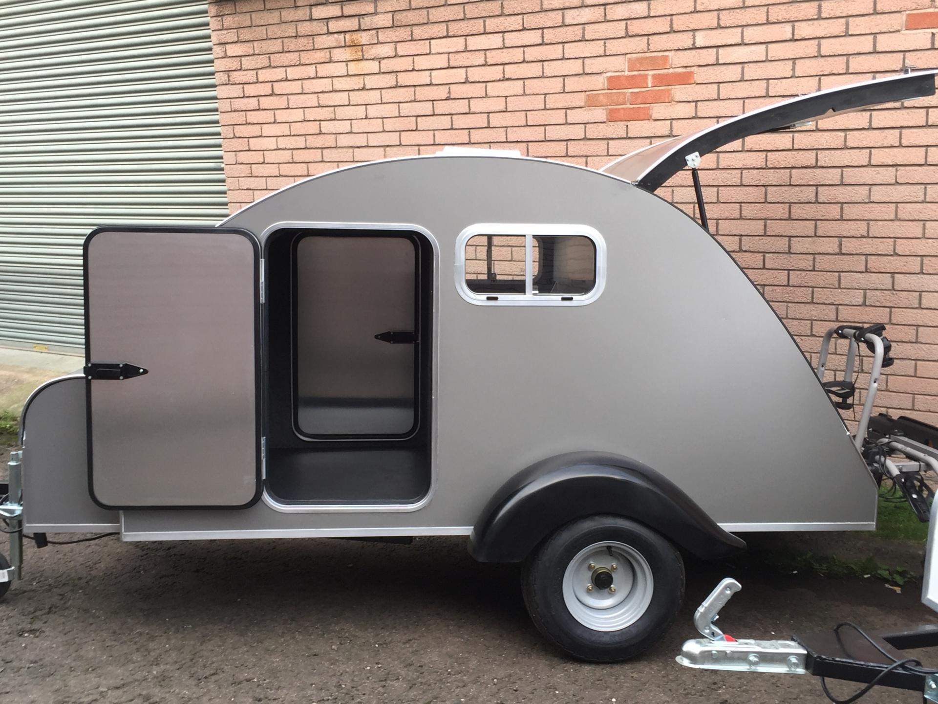 nodpod,teardrop trailer, camping pod, camper