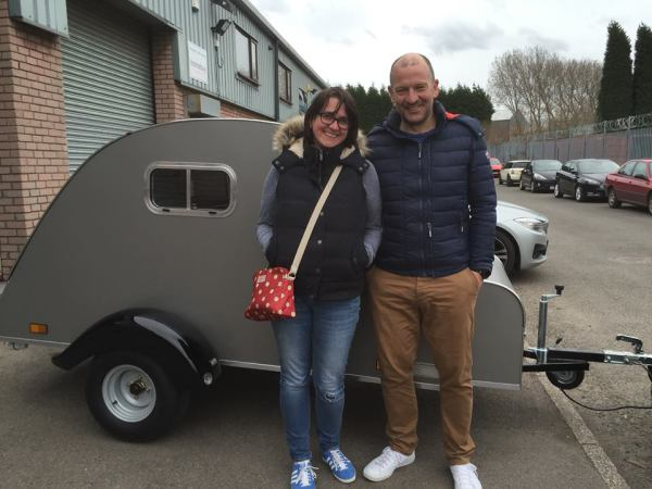 Louise and Neil collected their very own Nodpod Teardrop
