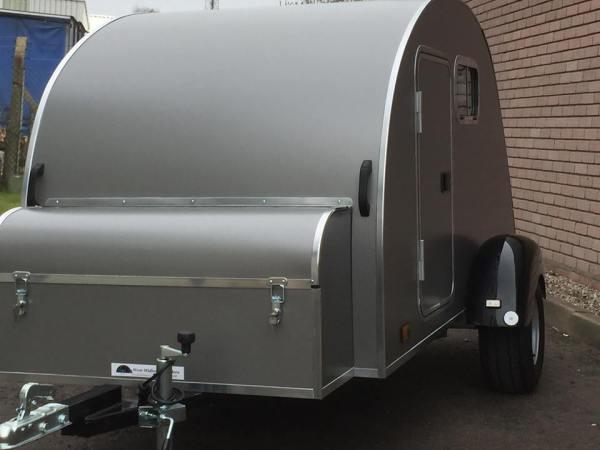 Smoke Grey Nodpod with large storage box