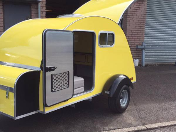 Special order Yellow NODPOD to match VW beatle