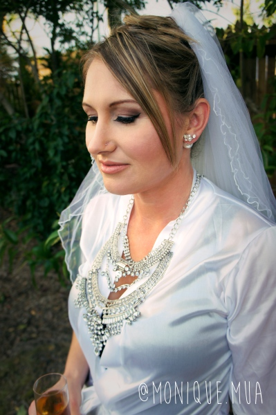 Sweet Lisa makes a stunning bride