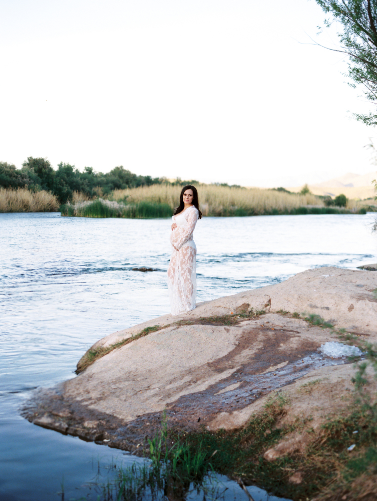 Boudoir Beauty Maternity Session