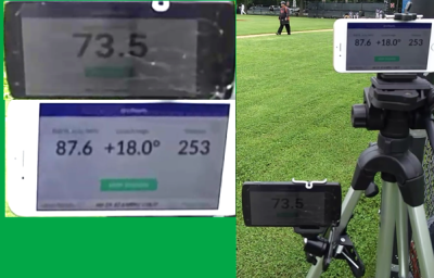 Pitch Speed AND Exit Velocity + Launch Angle on Same Pitch