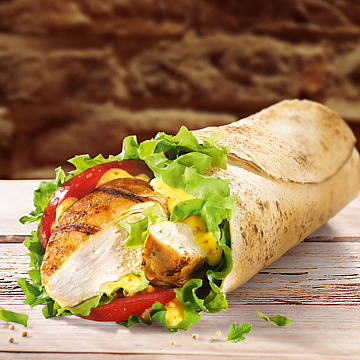 Grilled Or Fried Chicken Wrap
