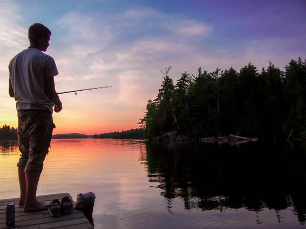Saranak Lake, Adirondacks, New York