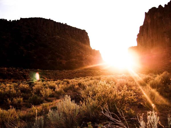 Diablo Canyon, New Mexico