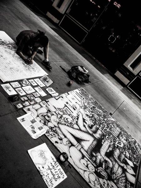 Las Vegas, Street Artist