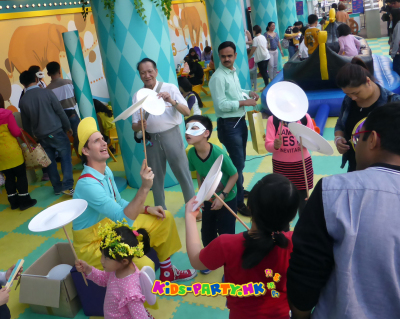 kids-party.hk - Plate spinning workshop