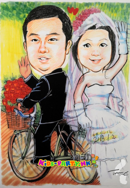 Caricatures Kids-Party Hong Kong