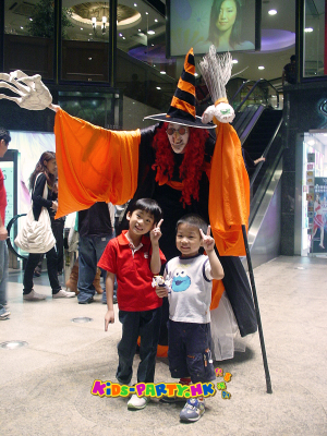 Halloween Characters Kids-Party Hong Kong