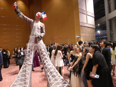 FRENCH EIFFEL TOWER ON STILTS