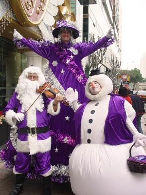 PURPLE CHRISTMAS TEAM