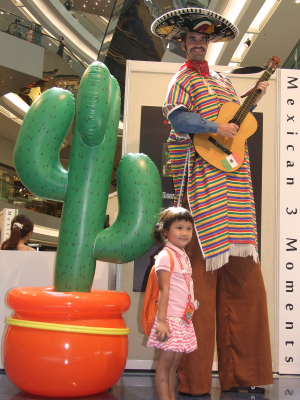 MEXICAN ON STILTS