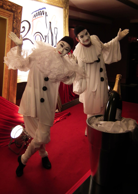 FRENCH MIMES PIERROT & COLOMBINE