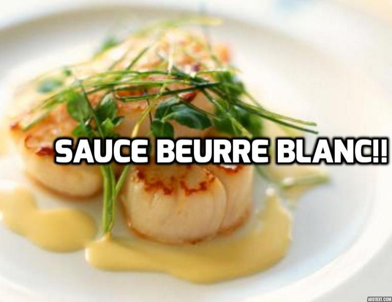 Recette du Beurre Blanc Inratable !!! Facile!!