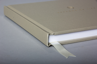 Buckram beige, heirloom, life album