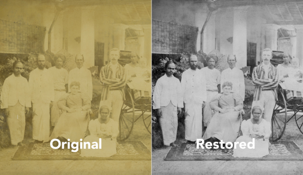Seasons of Life - Photo Restoration and Framing
