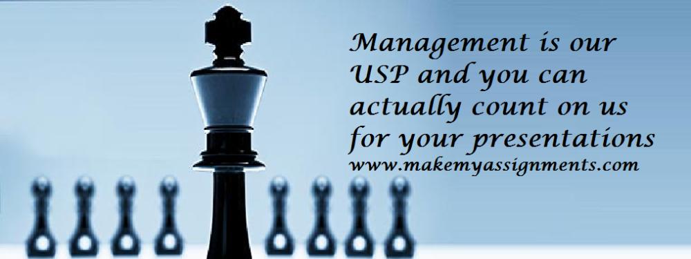 management presentation assignment help