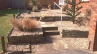 landscaped front garden by oak-gardens.co.uk