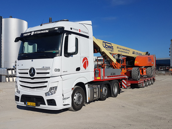 Mercedes Actros MP4