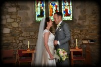 Wight Bride Isle of Wight Wedding Photography couple in church