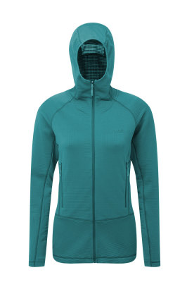Womens Power Grid Hoody