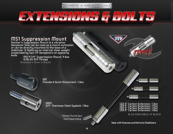 pg14 Extensions & Bolts