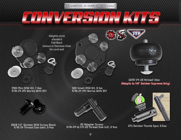 pg17 Conversion Kits
