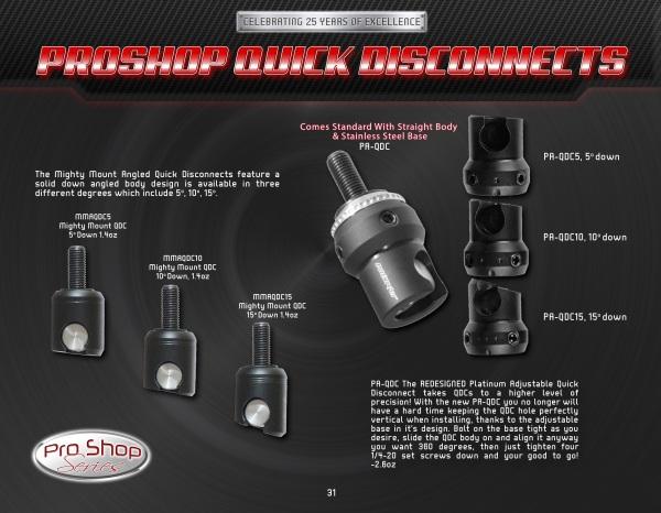 pg31 Pro Shop QDC's