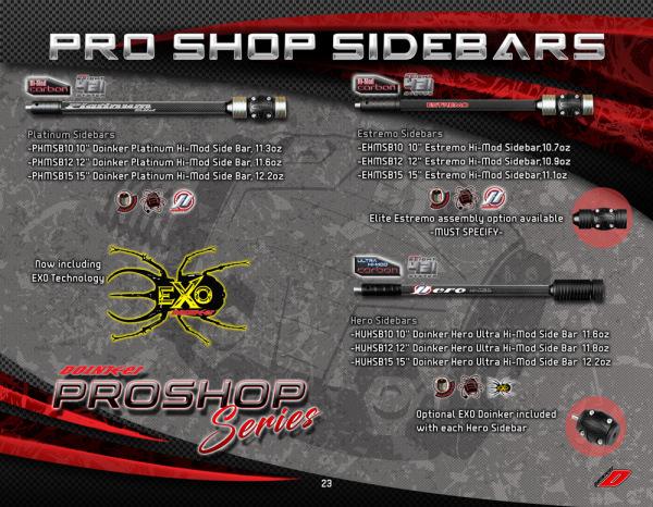 Pro Shop Sidebars