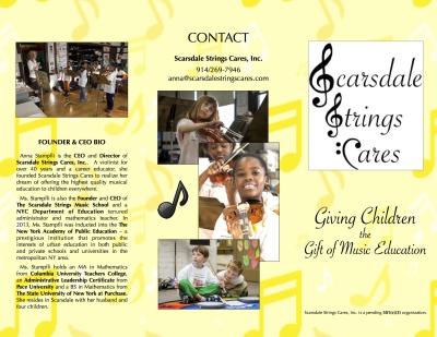 Scarsdale Strings Cares Brochure
