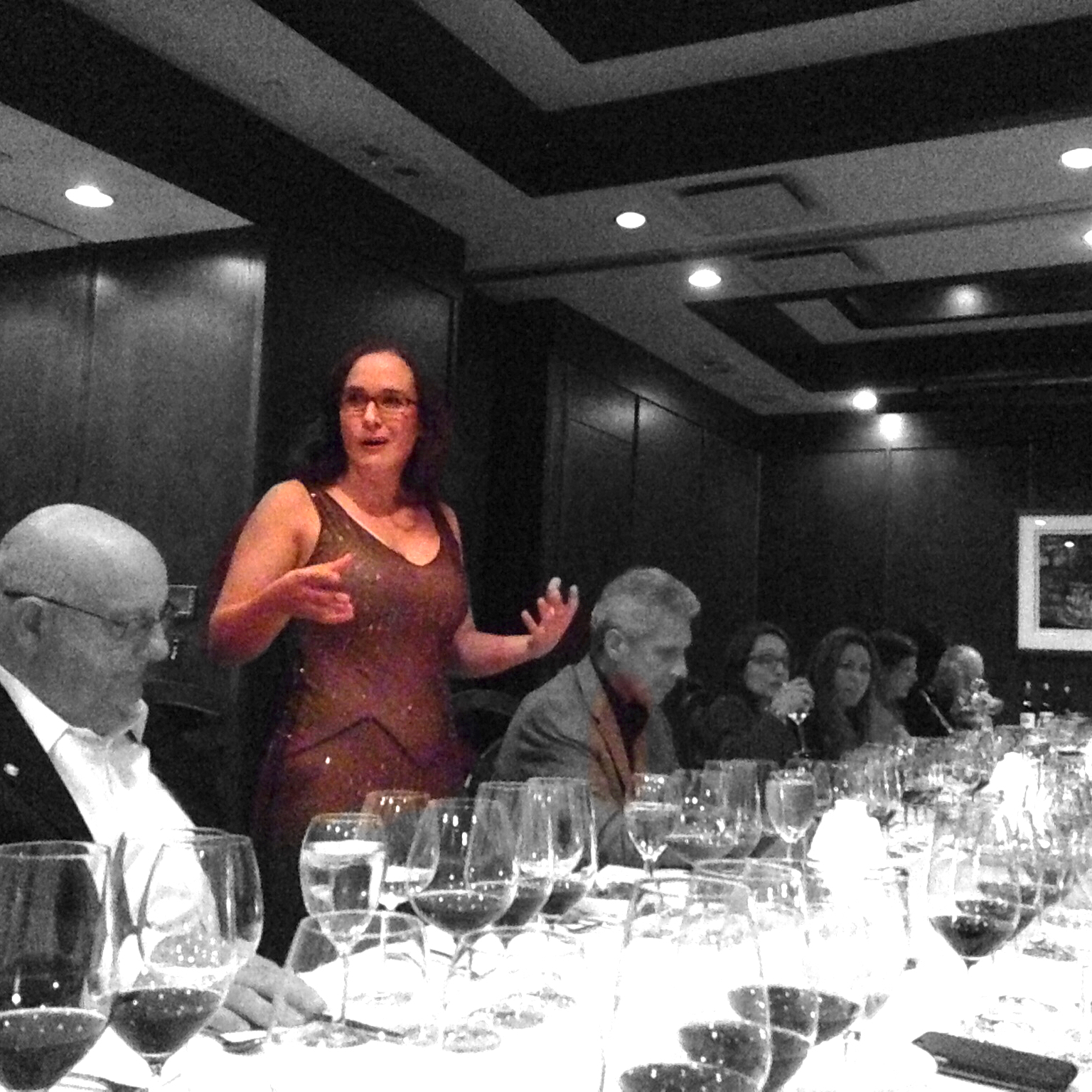 Presenting a Wine Dinner