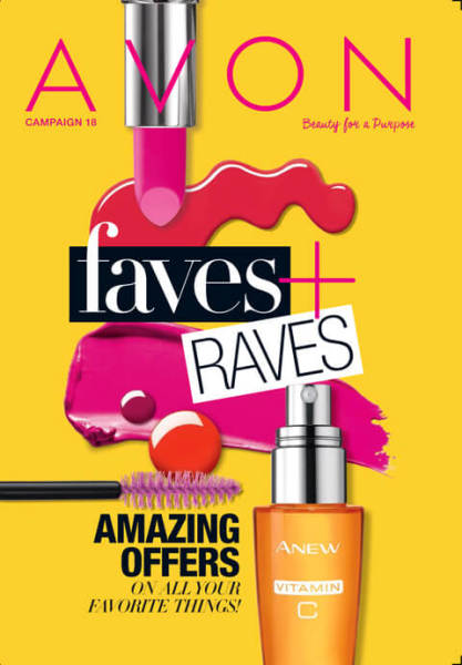 Here it is, The Latest Beautiful Avon Brochure 18