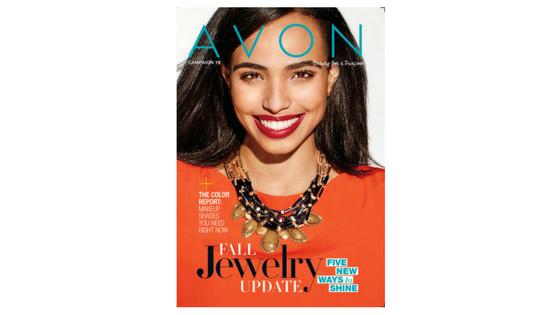Here it is, The Latest Beautiful Avon Brochure 19