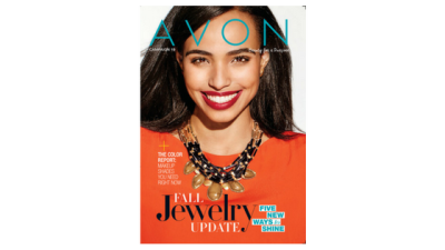 Here it is, The Latest Beautiful Avon Brochure 19