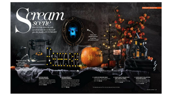 Avon Halloween Decorations