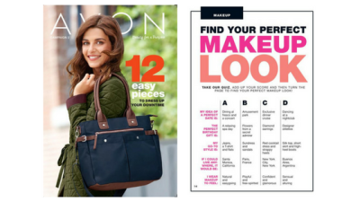 Discover your perfect makeup look with Avon