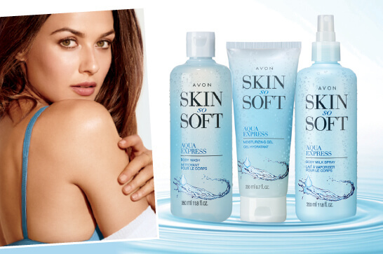 Skin So Soft Aqua Express Trio