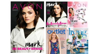 Here it is, The Latest Beautiful Avon Brochure 10 In this brochure...  Color To Push Your Limits...B
