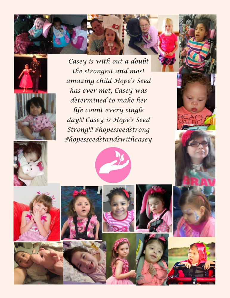 Hope's Seed Goes Pink In Support of Casey!