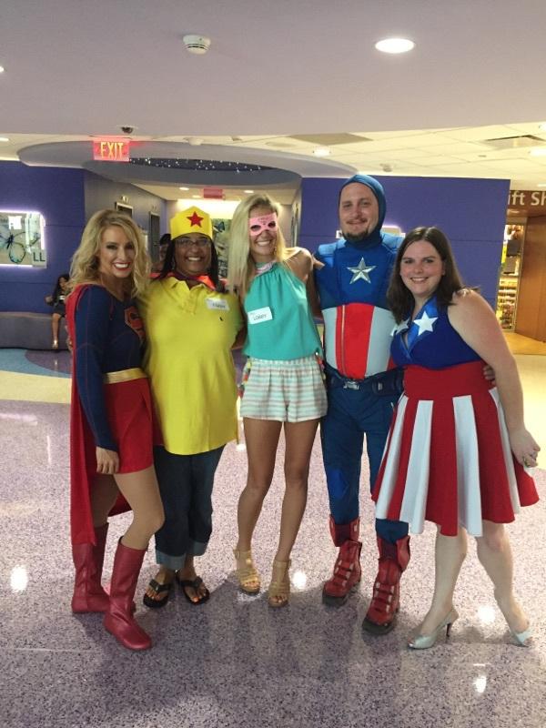 Superhero Day at Children's Medical Center Dallas