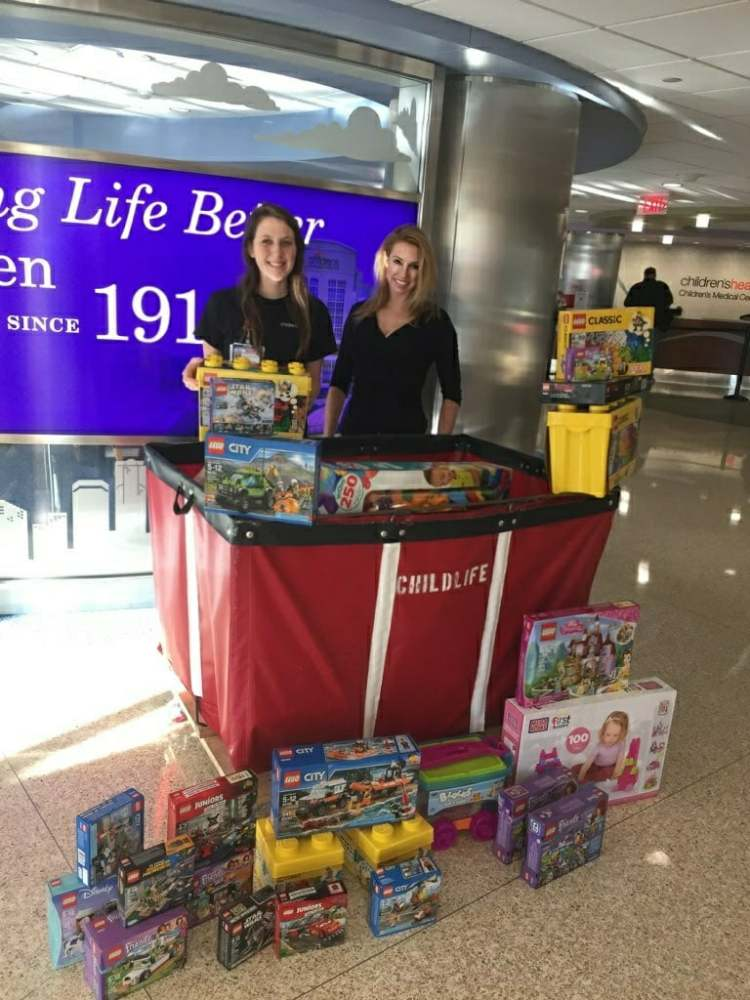 Hope's Seed Brings Lego's to Children's Medical Center