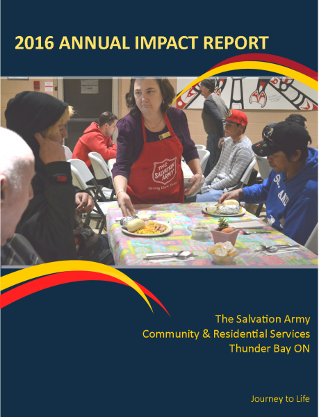 Thunder Bay Salvation Army Annual Review