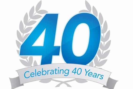 Celebrating 40 years 1975 - 2015