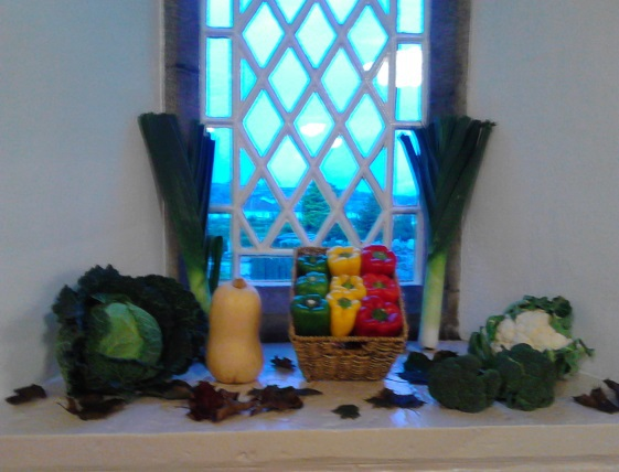 Harvest Decorations 2015