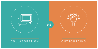 Collaboration vs Outsourcing