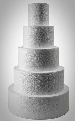 dummy fake wedding cakes