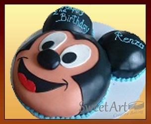 Disney Mickey cake