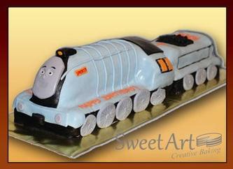 3d Thoma Train cake